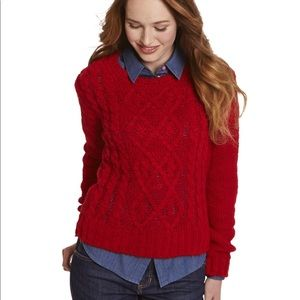 Joules Avelyn cable knit sweater
